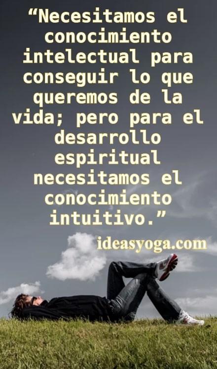 conocimiento intelectual e intuitivo - Que es Jnana yoga - ideas yoga