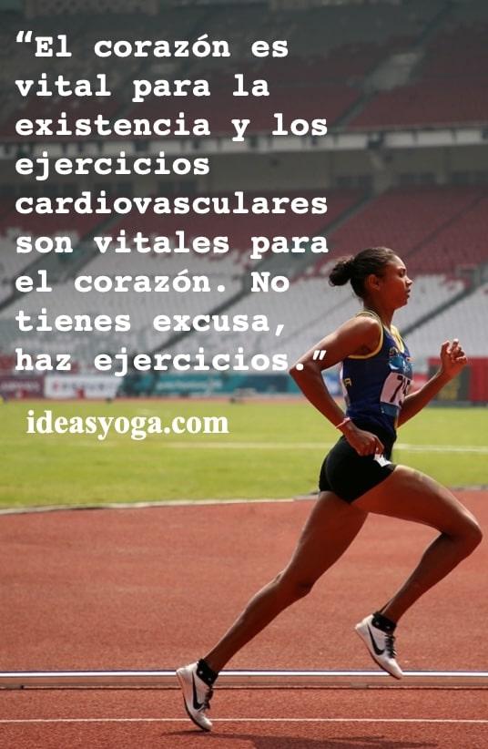 ejercicios - salud alimentacion corazon- ideasyoga