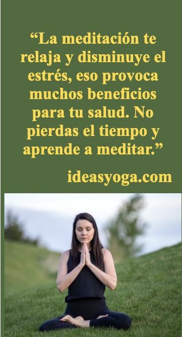 salud estres - beneficios de la meditacion - ideasyoga