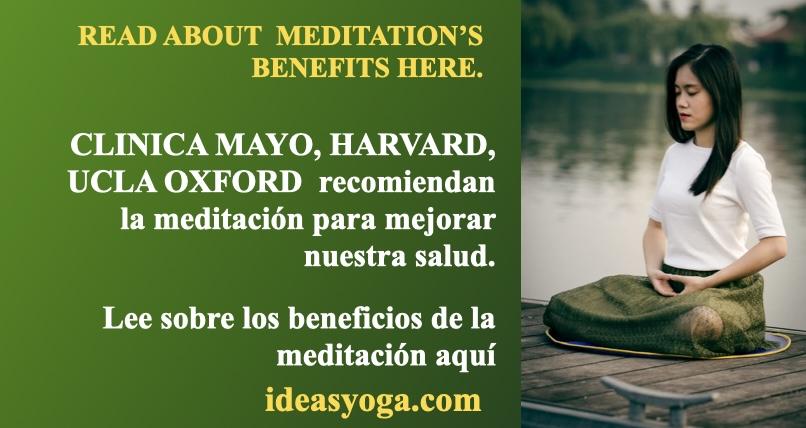 MEDITACIÓN Y SUS BENEFICIOS: SALUD INTEGRAL.