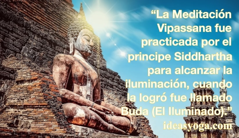 MEDITACIÓN VIPASSANA: BENEFICIOS Y OBJETIVO