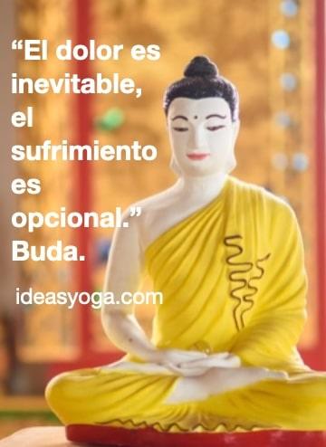 Dolor y sufrimiento - frases de Buda reflexion pensamientos citas - EL SUFRIMIENTO Y LA DEPRESIÓN - ideasyoga