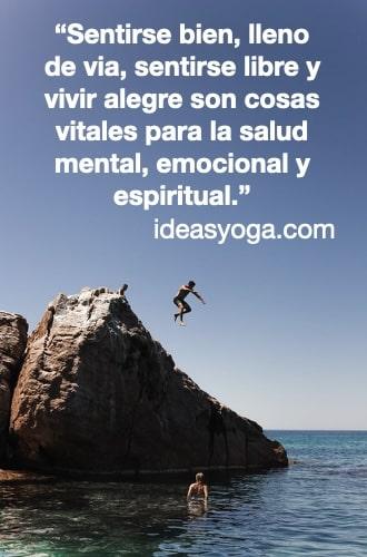 Libertad alegria felicidad - frases citas motivacion inspiracion - EL SUFRIMIENTO Y LA DEPRESIÓN - ideasyoga